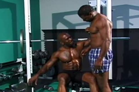 crazy homosexual body builder plowing