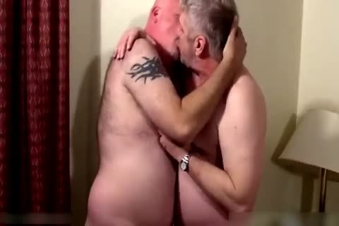 Two kinky daddies in bedroom