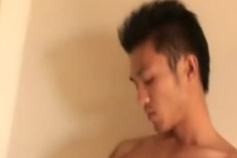 Thai chap Showering And wanking