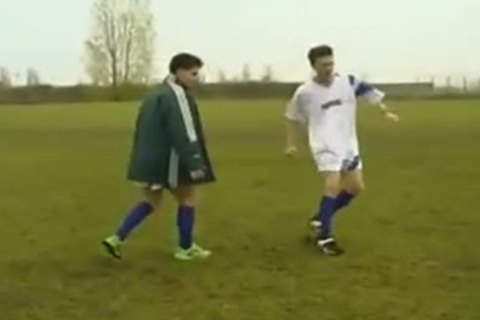 Two gay Football dudes In juicy fucking Coition