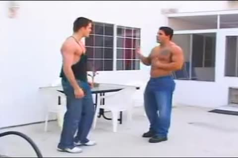 sleazy Hunk Rimms & copulates hellos Muscle friend