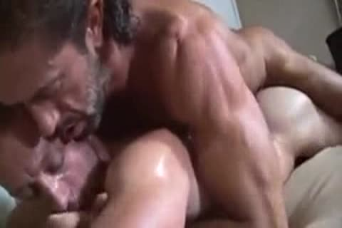 delicious bushy chap  pokes Younger man