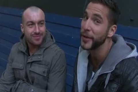 European gay couple Pump's That wazoo On web camera