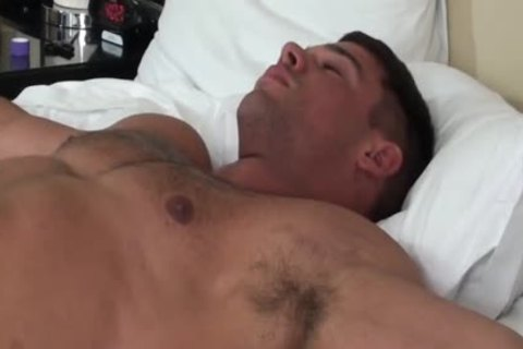 yummy Muscle guy tied And Tickled - Derek Atlas
