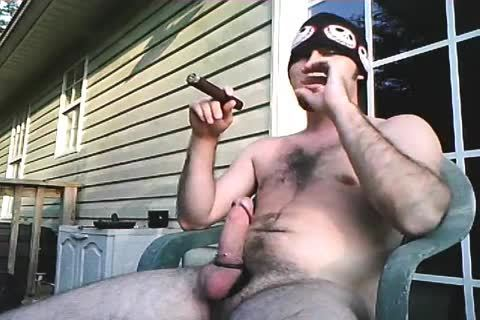 another older video Of Me Stroking Outside When I Lived In Alabama. Just Enjoying A admirable Cigar And Being A man!