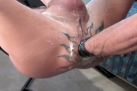 I lastly got to His Place Since this guy Got His Sling. intimate clips For Polishing His ramrod And For Using The Stamen dildo also.  Plus One For Pumped Balls And ramrod Play.