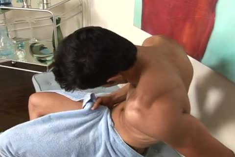 Shawn Creamy stroking