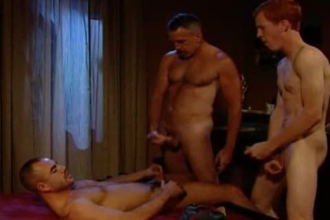 Three-way With Flip-plow: Taurus Dean, Nathan York & Blu Kennedy - 110 In Tucs0n