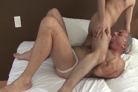 Taking Daddy's Virgin ass