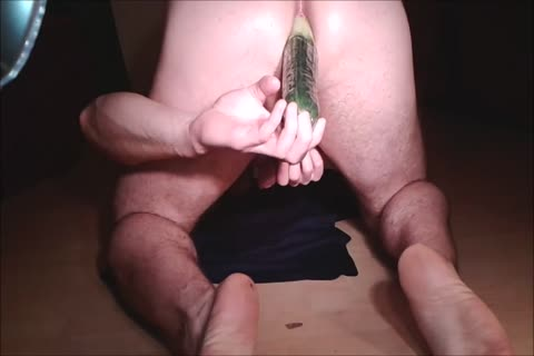 Assfuck With Cucumber & cumshot doggystyle