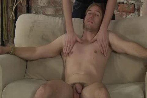 horny Kieron shove His large penis unfathomable Into Jaxon throat