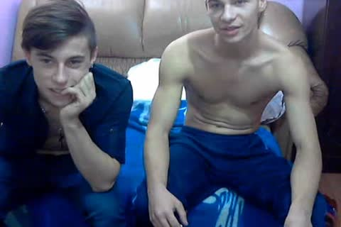 two handsome bi sexual Romanian boyz With admirable penises & wild asses On cam.