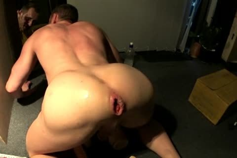 hot gay fisting and cumshot