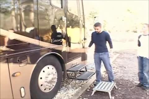 twink pounded In Fair Ride Roustabouts Trailer.Pt.1.