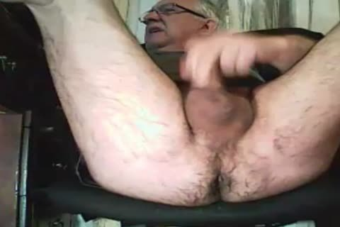grandpa stroke And Play With A sextoy