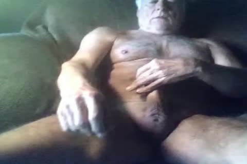 yummy old man jack off On web camera (no cum)