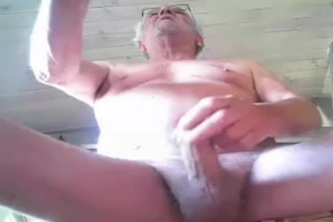 older man jack off On cam