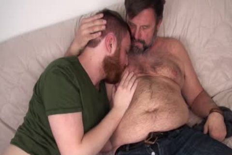 hirsute Daddy Chris Mine pounds Colt Cox raw