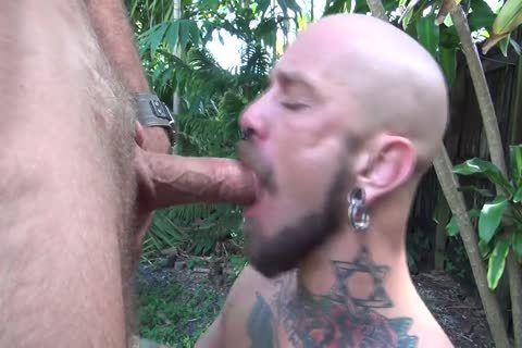 Face-pound favourable man - Factory video scene