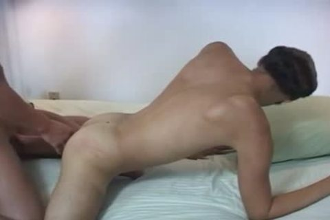 twink gets His delicious Lubed wazoo banged In A Close Up