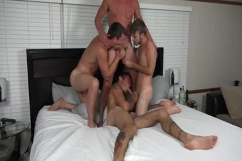 A pair AND TWO allies fucking ON webcam