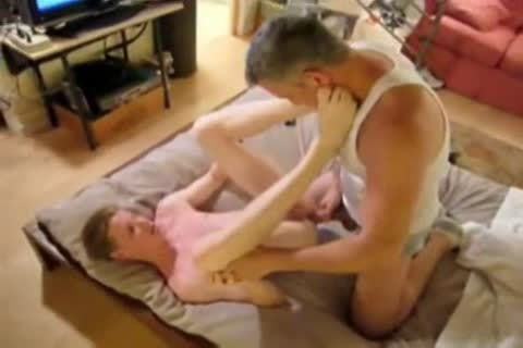 twink nasty enjoyment With two Daddies
