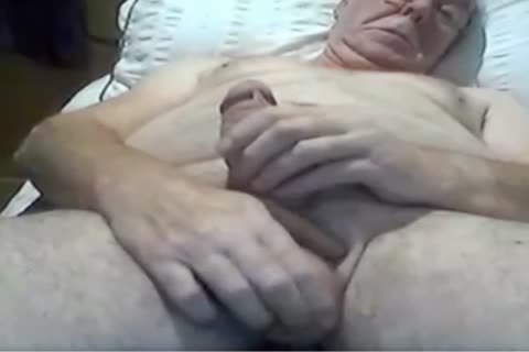 grandad stroke And Play On cam