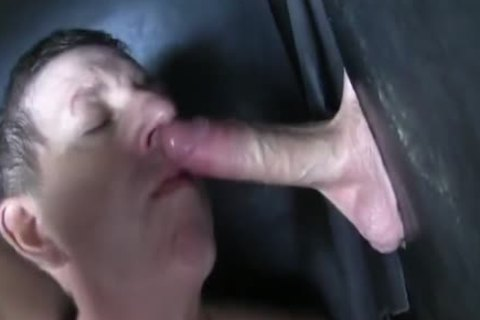 Super big Uncut dong straight Aussie Max acquire's Sucked Off At The Gloryhole.