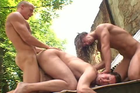 Blazing threesome Fug With wazoo Licking