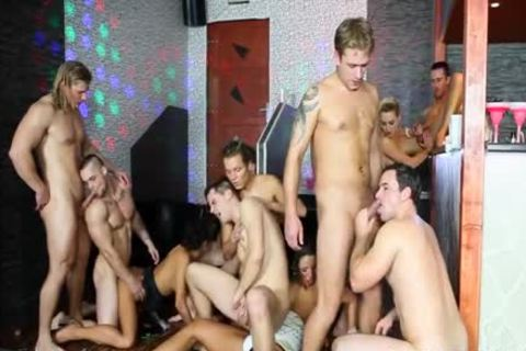 sleazy boys have a joy bisexual orgy