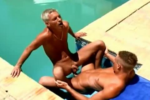 Wow juicy dicks juicy Poolside homo poke
