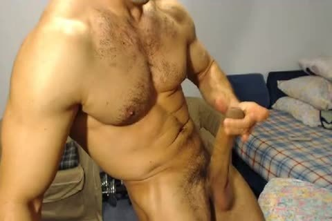 Hung muscular Hunk With An excellent ramrod