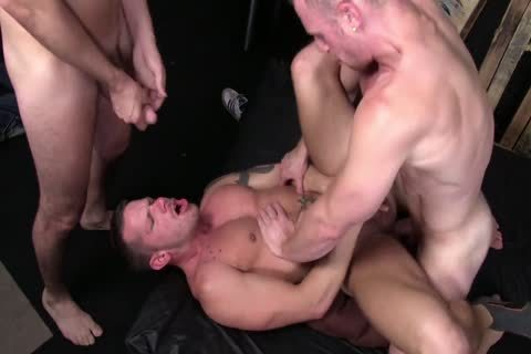 bare 3some - Saxon West, Chris And Shane
