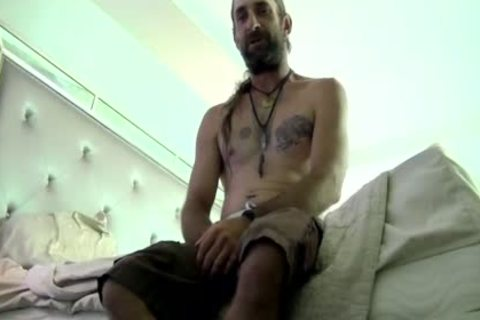 Tremendous Daddy Gargling And Licking bushy Hunks gigantic knob HD Xrated Taped - SpankBang