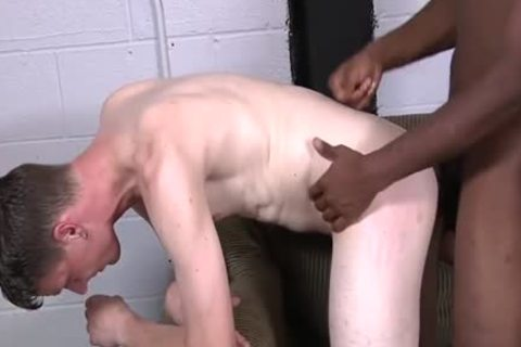Corey James Takes A darksome 10-Pounder In His Rear Free gay pound clips 2a