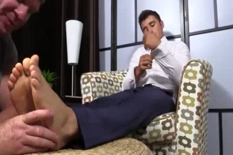 Matthew acquires Toe Sucked And Worshiped