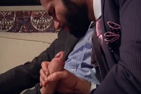 gigantic knob homosexual butt job And Facial