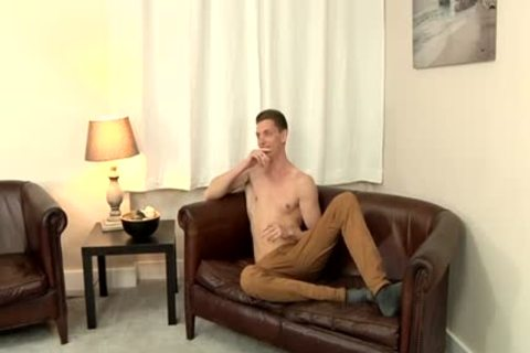 Smooth British ramrod Billy Wanks One Out - Billy Rock