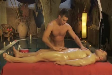 A Combo Therapy Of Body And cock Massage