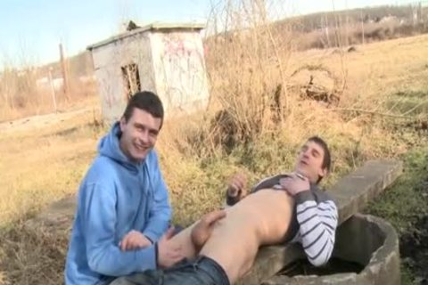 yummy Daddy Sex In Public With Facial