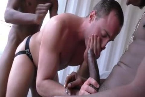 Muscle Son blowjob job With cumshot