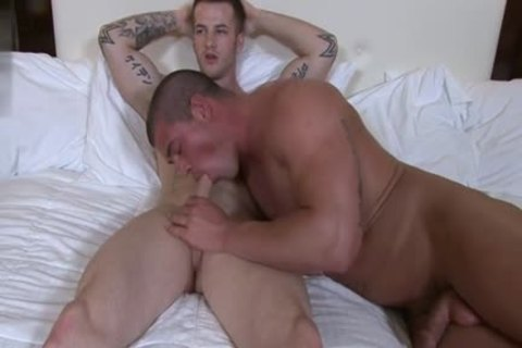 Muscle gay anal-copulation And ejaculation
