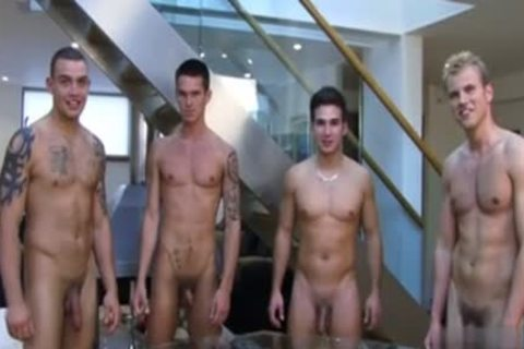 Muscle homo Rimjob And ejaculation