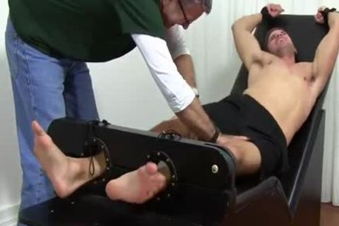muscular Dane fastened Up And Tickled