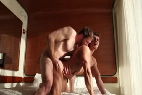 Muscle homosexuals butthole invasion With cumshot