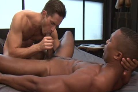 enormous dick homosexual Interracial And cumshot