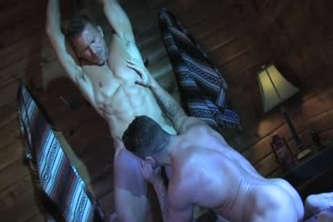 Muscle shlong oral-job sex With cumshot