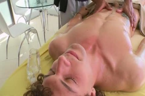 hot homosexual anal With Massage