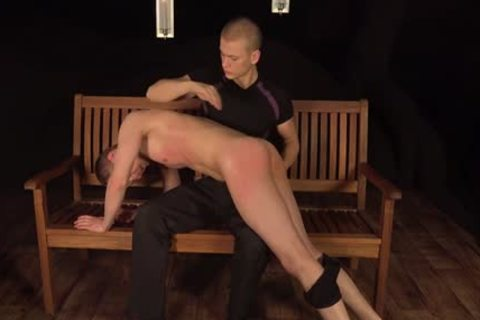 lusty homosexual men spanking And sperm flow