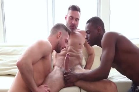 large 10-Pounder Son 3some And cumshot